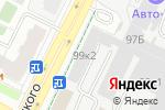 Схема проезда до компании Центр автоматических трансмиссий Пермь в Перми
