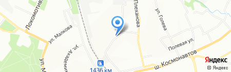 Интерсервис на карте Перми
