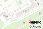 Схема проезда до компании Стильный уголок в Перми