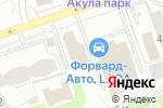 Схема проезда до компании Depilation-59 в Перми