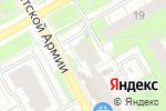 Схема проезда до компании Золотка в Перми