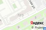 Схема проезда до компании А Байт в Перми