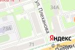 Схема проезда до компании Co Co в Перми