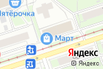 Схема проезда до компании Coral Travel в Перми