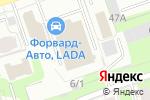 Схема проезда до компании Бочонок Душевного в Перми
