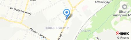 АвтоМаг на карте Перми