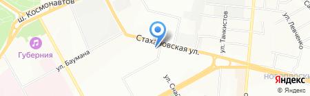 Топтыжка на карте Перми