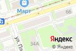 Схема проезда до компании ДентМастер в Перми