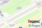 Схема проезда до компании Карэ в Перми