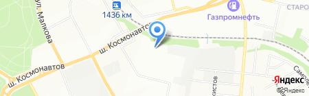 ПермТехноСтрой на карте Перми