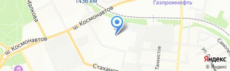 Шёне Ауто на карте Перми
