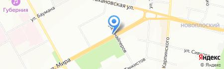 Магазин фруктов и овощей на ул. Снайперов на карте Перми