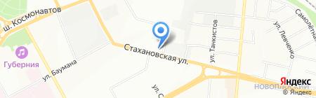 ПаноРама на карте Перми