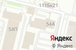 Схема проезда до компании Бош сервис в Перми