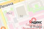 Схема проезда до компании Горизонт в Перми