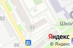 Схема проезда до компании IQCube в Перми