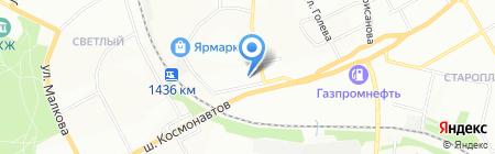 Краевой центр сурдологии на карте Перми