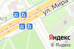 Схема проезда до компании Киоск по продаже молочных продуктов в Перми