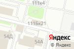 Схема проезда до компании АйТи консалтинг в Перми