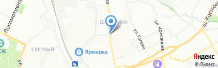 Пермпластцентр на карте Перми