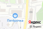 Схема проезда до компании Цветы и Сервис в Перми