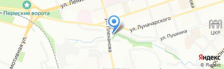 В Вашем стиле на карте Перми