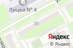 Схема проезда до компании Art витраж. Пермь в Перми