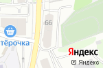 Схема проезда до компании Селфи в Перми