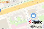 Схема проезда до компании Зеленая улица в Перми