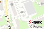 Схема проезда до компании Альянс-сервис в Перми