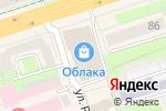 Схема проезда до компании Печатный салон в Перми