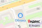 Схема проезда до компании ДНС в Перми