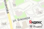 Схема проезда до компании Прикамский третейский суд в Перми