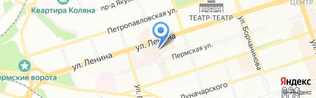 By Twins на карте Перми