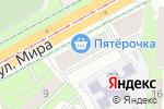 Схема проезда до компании Все для ремонта в Перми