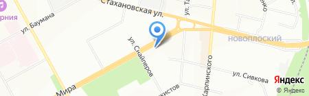 АКВА-М на карте Перми