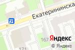 Схема проезда до компании Яша в Перми