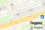 Схема проезда до компании ЮниКредит Банк в Перми