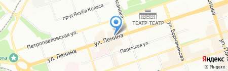 Банкомат Банк Российский Кредит на карте Перми