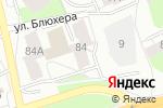 Схема проезда до компании Елисей Мастер в Перми
