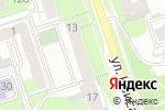 Схема проезда до компании Черная орхидея в Перми