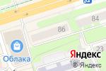Схема проезда до компании Crema в Перми