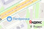 Схема проезда до компании 59mebel в Перми