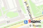 Схема проезда до компании Национальный банк ТРАСТ в Перми
