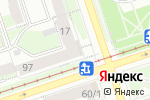 Схема проезда до компании Социальный для всех в Перми