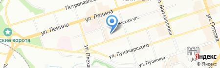 Олимп на карте Перми