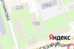 Схема проезда до компании Карусель игрушек в Перми