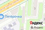 Схема проезда до компании Ханты-Мансийский банк Открытие в Перми