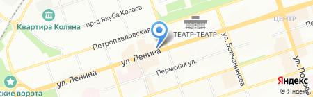 Кредо на карте Перми