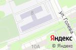 Схема проезда до компании Средняя общеобразовательная школа №25 в Перми